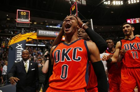 Westbrook's historic moment gets Thunder back on track
